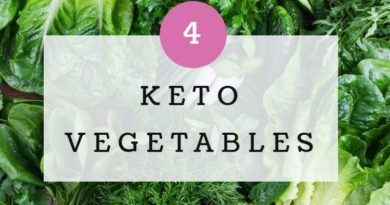 Keto Diet Vegetables